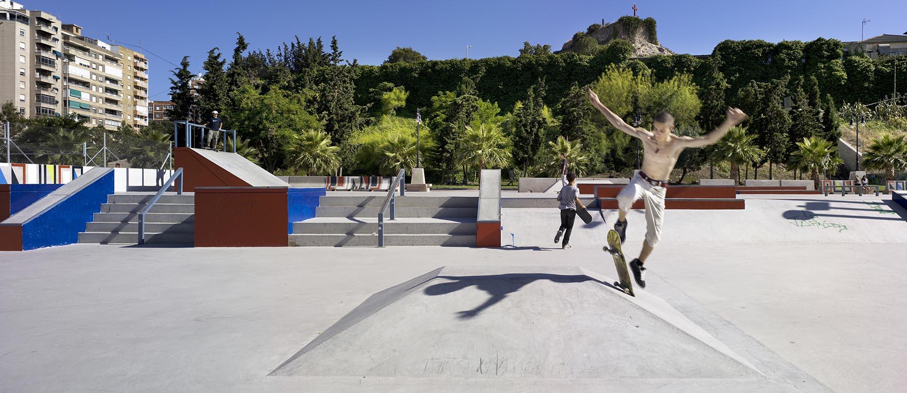 Skate Park y Parque Deportivo. Cartagena.
