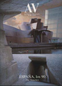 AV Monografías nº79-80. 'España, los 90'