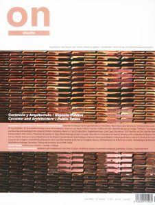 On Diseño nº347. 'Cerámica y Arquitectura / Espacio Público'
