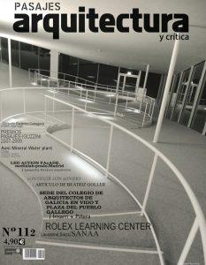 PASAJES Arquitectura y Crítica nº112