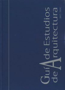 Guía de Estudios de Arquitectura 2017-2018. Promateriales