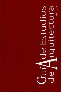 Guía de Estudios de Arquitectura 2018-2019. Promateriales