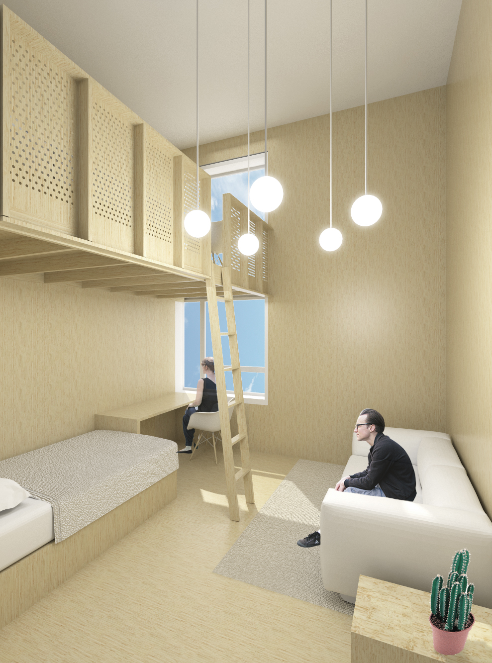 Martin lejarraga arquitecto residencia universitaria en for Martin lejarraga