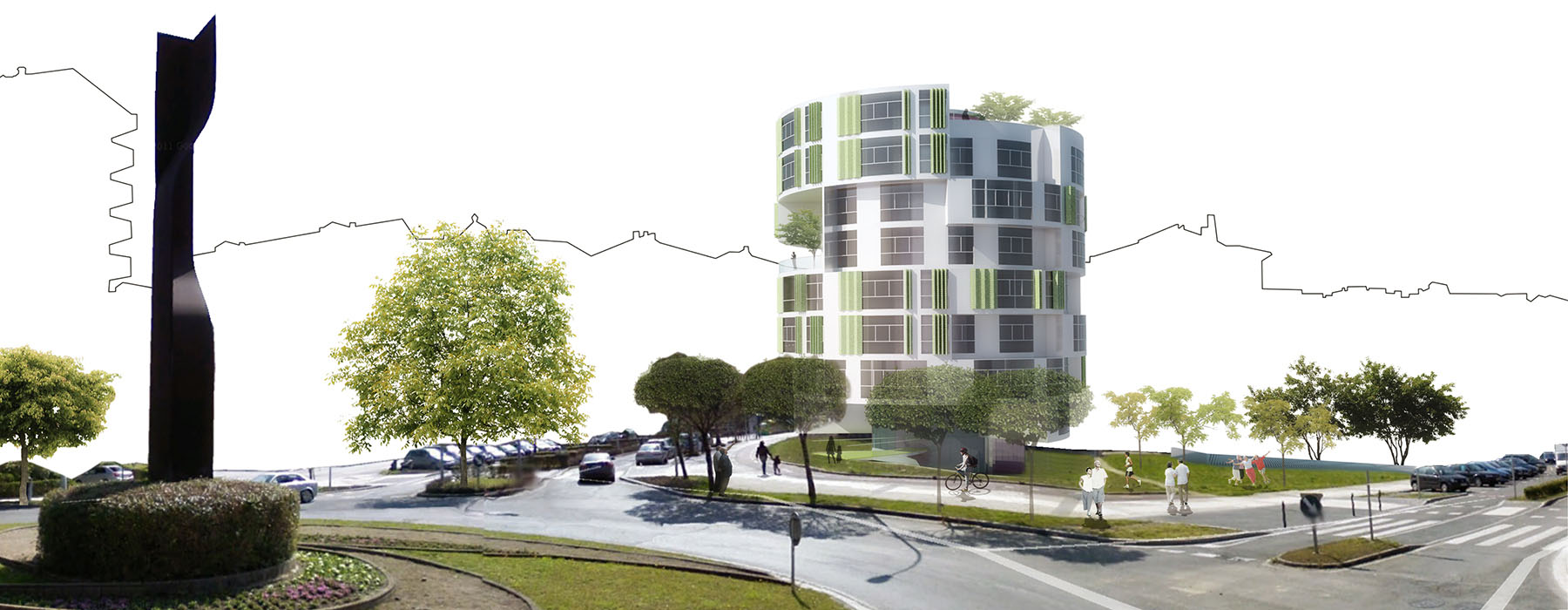 Edificio de Apartamentos para Mayores. Intxaurrondo.