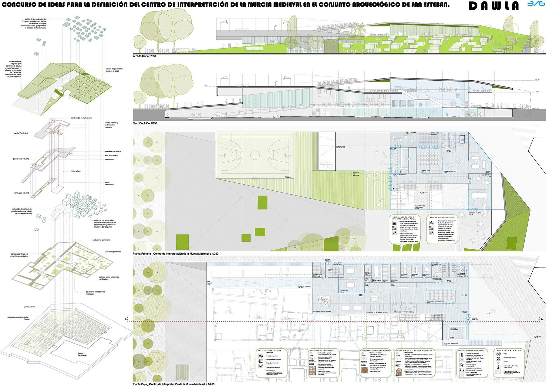 Martin lejarraga arquitecto centro de interpretaci n - Arquitectos en murcia ...