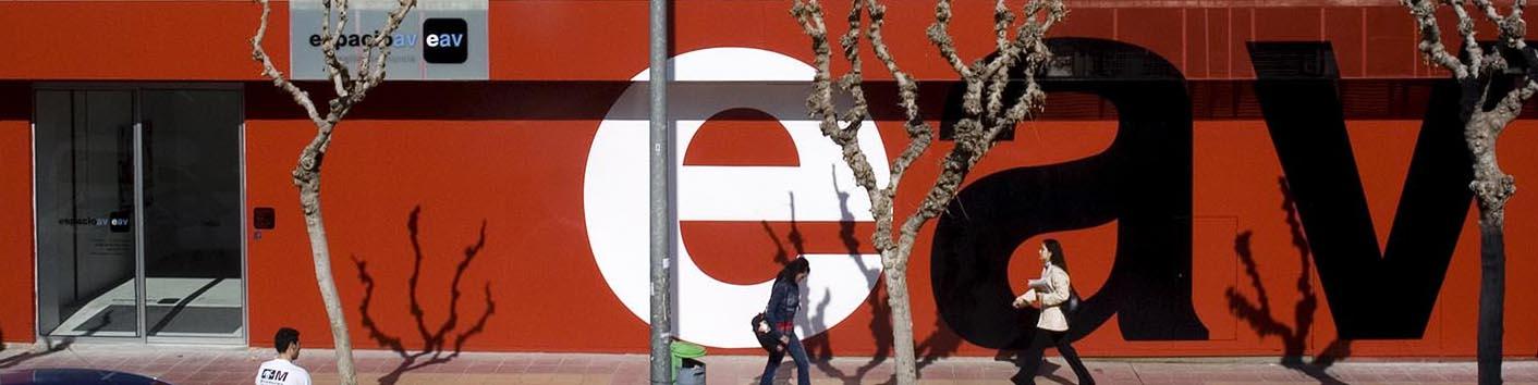 eav = Espacio de Artes Visuales. Murcia.