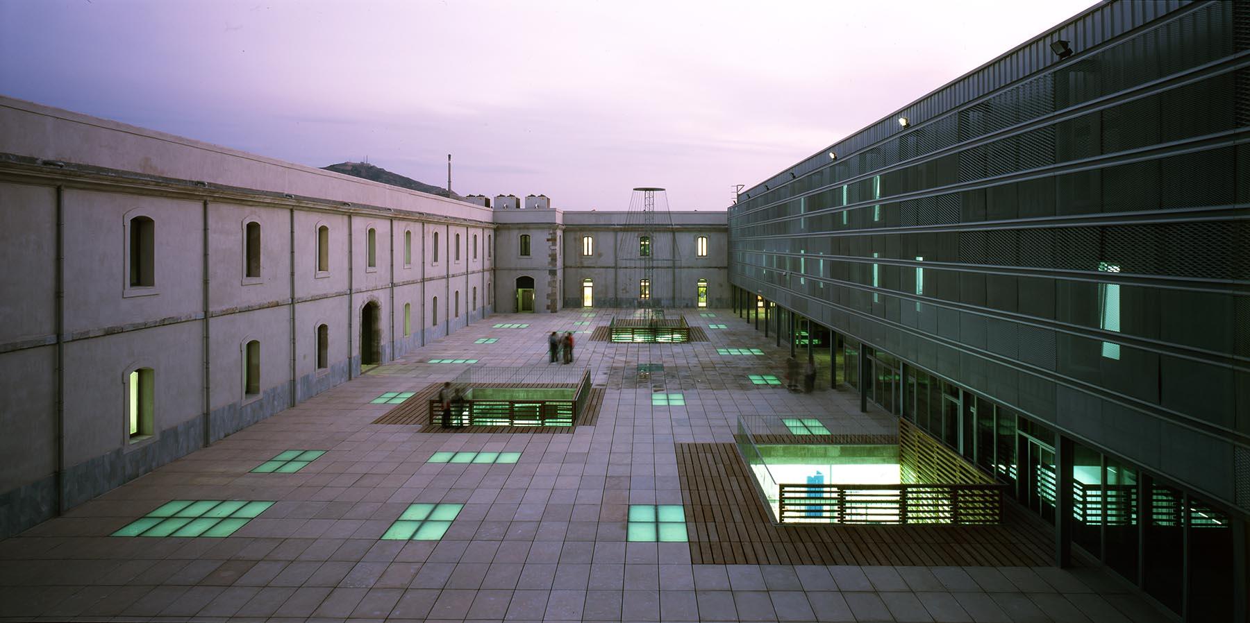 Rehabilitation of 'Antigones' Barracks. Polytechnic University of Cartagena-UPCT. Main Library