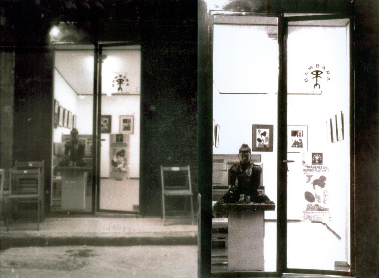 Galería de Arte 'BAMBARA'. Cartagena.