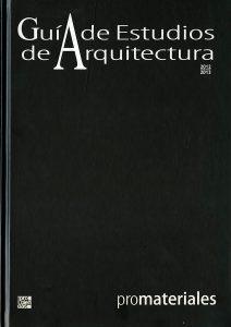 Guía de Estudios de Arquitectura 2012-2013