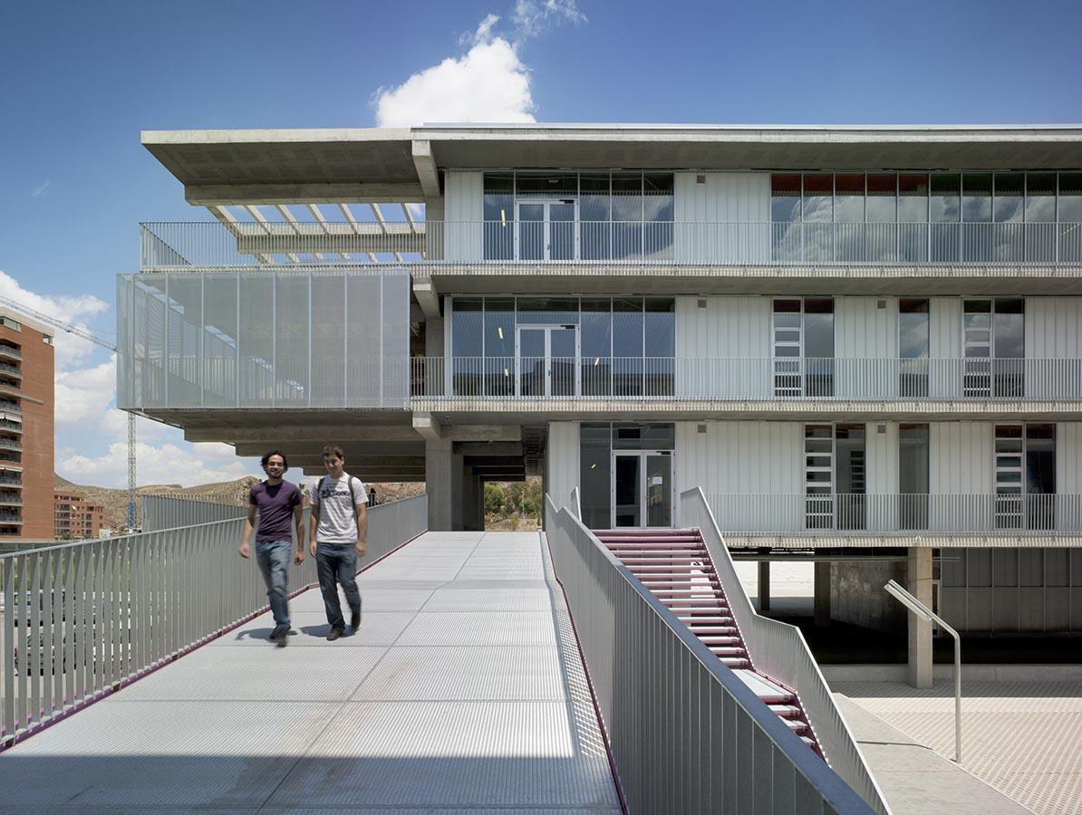Martin lejarraga arquitecto campus universitario - Arquitectos lorca ...