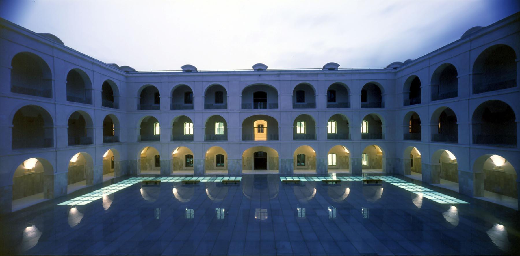 Rehabilitación del Hospital Militar de Marina -Paraninfo- Univ. Politécnica de Cartagena.