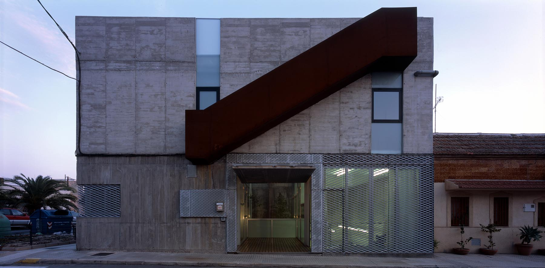 Martin lejarraga arquitecto vivienda y estudio para un - Arquitectura cartagena ...