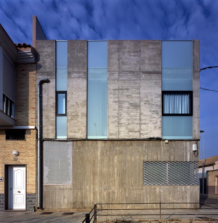 Martin lejarraga arquitecto vivienda y estudio para un for Martin lejarraga